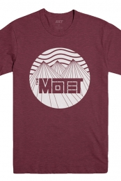 Mountain Tee (Maroon)