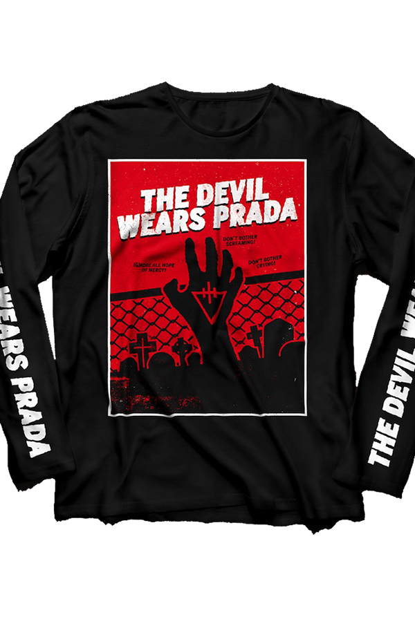 Zombie Long Sleeve Tee (Black)