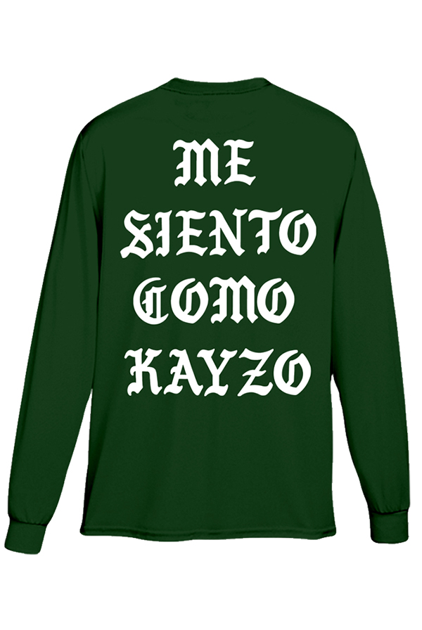 Me Siento Como KAYZO Long Sleeve (Green)