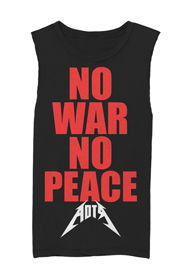 No War No Peace Sleeveless (Black)