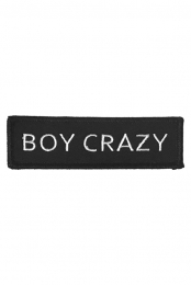 Boy Crazy Patch