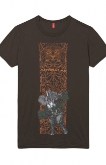 Womens GOP Tee (Brown)