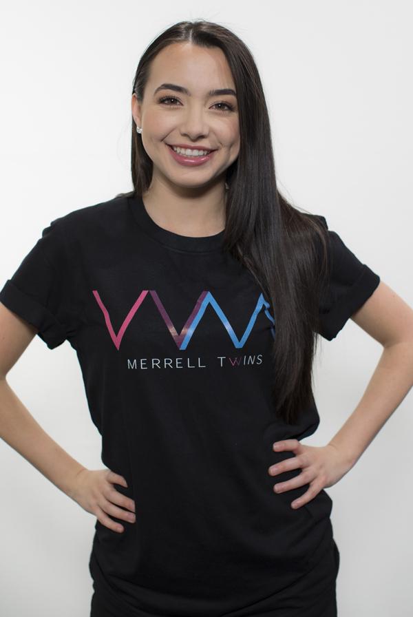 Logo 2 0 Unisex Tee Black T Shirt Merrell Twins T