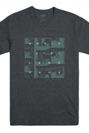 Windows Tee (Heather Charcoal)