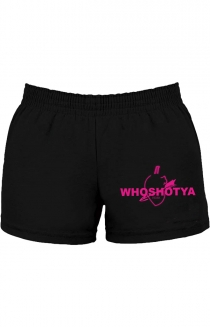 Who Shot Ya Booty Shorts (Front Print)