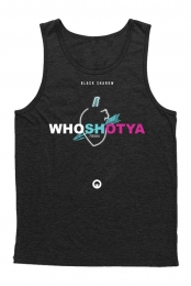 Who Shot Ya Unisex Tank (Black)