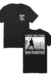 Leave This Town Tee (Black)