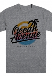 Ocean Avenue Tee (Heather Grey)