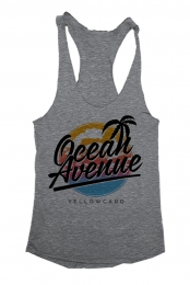 Ocean Avenue Girl's Racerback (Heather Grey)