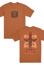 Tiki Tee (Burnt Orange)