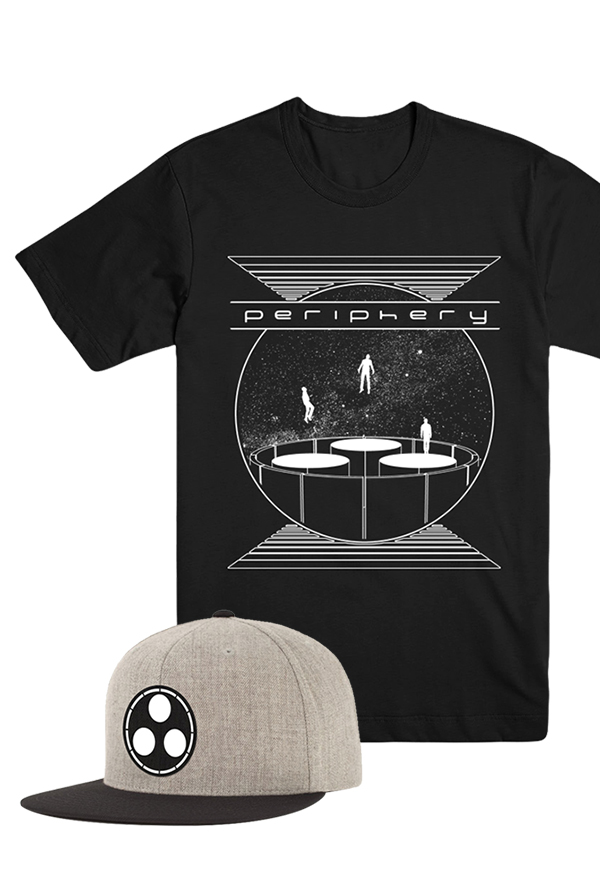 Ascending Tee + Patch Snapback