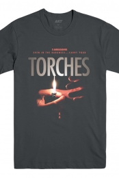 Torches Tee (Charcoal)