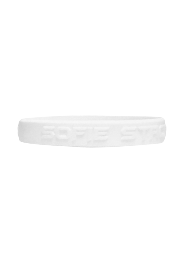 Sofie Strong Wristbands (White Glow)