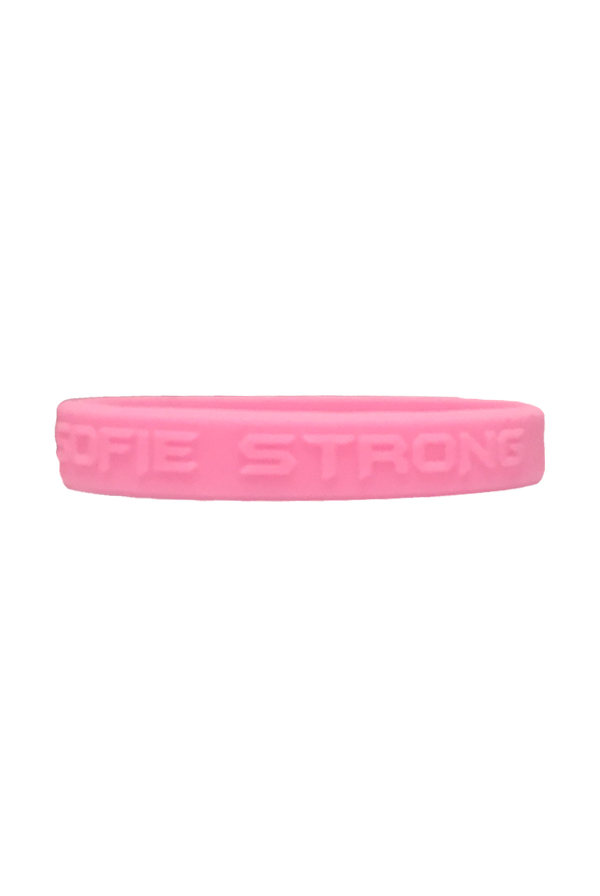 Sofie Strong Wristbands (Light Pink)