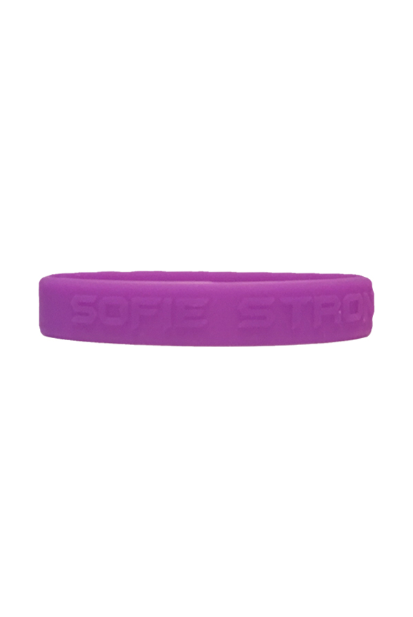 Sofie Strong Wristbands (Purple)