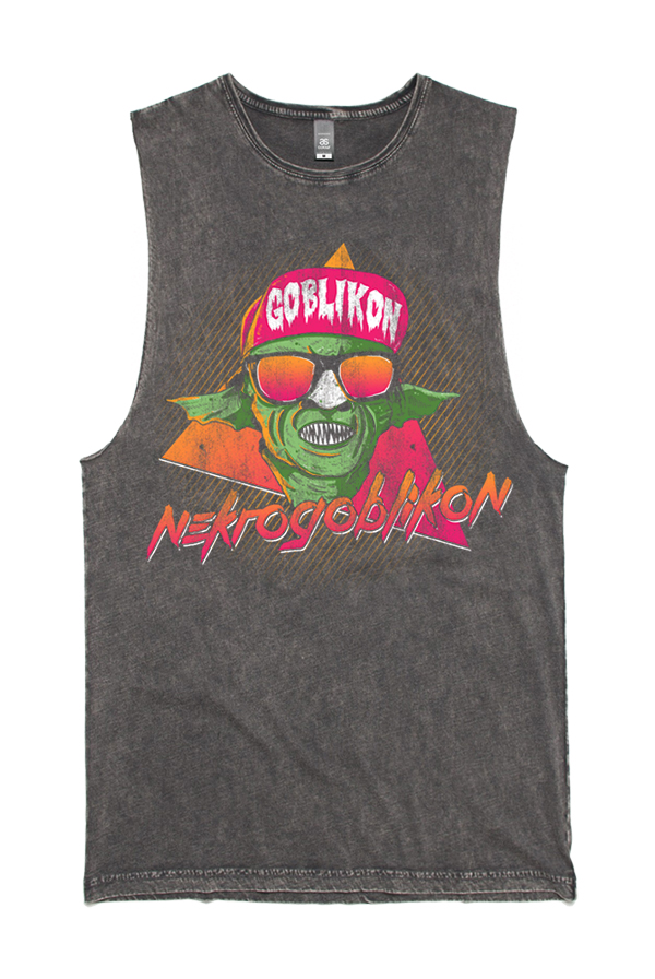 Summer Goblin Muscle Tank (Black Stone)