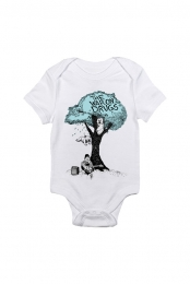 Teal Tree Onesie