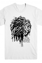 Bleeding Ink Tee (White)