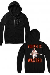 Youth Is Wasted Hoodie (Black)