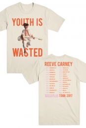 Youth Is Wasted - 2017 Tour Shirt (Natural)