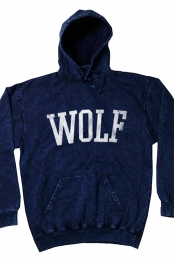 Wolf Pullover (Mineral Navy)