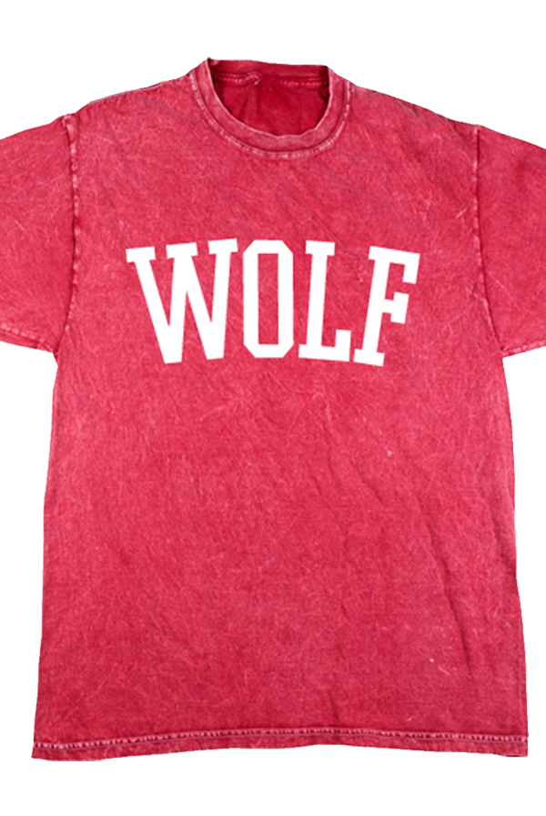 Wolf Tee (Mineral Red)