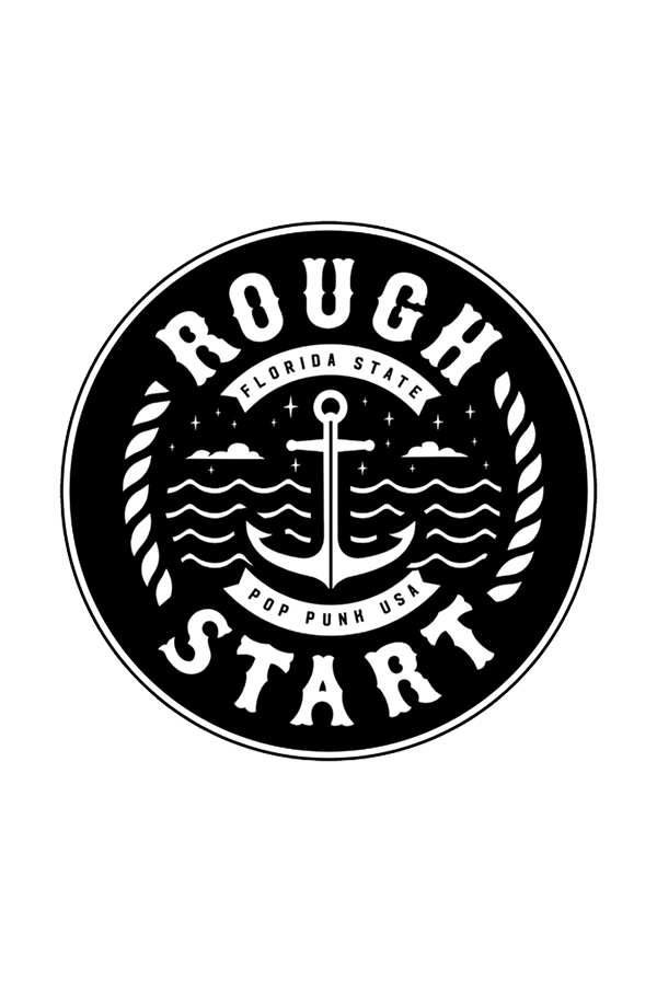 Rough Start Sticker