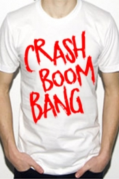 Crash Logo (White)