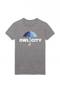 Umbrella Tee (Heather Grey)