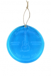 Free Range Folk Ornaments/Suncatcher (Blue)