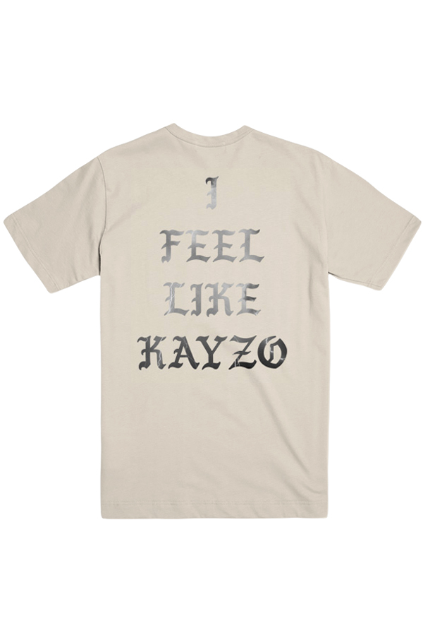 I Feel Like KAYZO Lightning Tee (Cream)