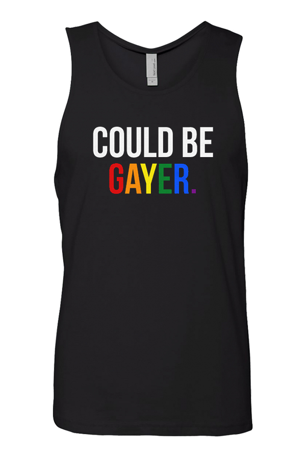 Could Be Gayer Tank (Black)