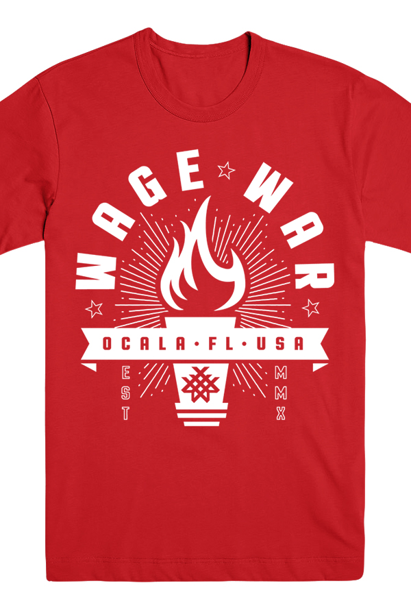 Torch Tee (Red)