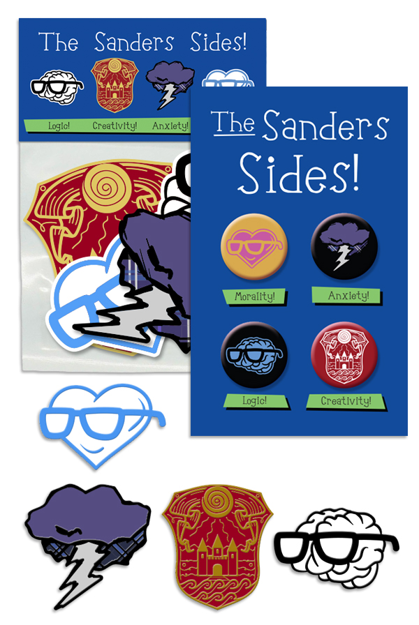 Sanders Sides Super Fan Pack