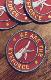 We Are The Kyeforce Embroidered Patch