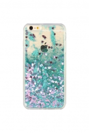 Quicksand Glitter Phone Case (Green)