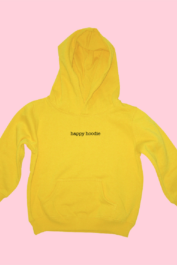 Happy Hoodie (Yellow)
