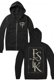 Break Zip Up Hoodie (Black)