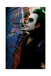Limited Edition Signed Joker 11x17 Poster