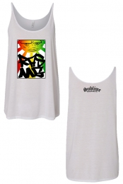Ladies Sun RRG Tank (White)