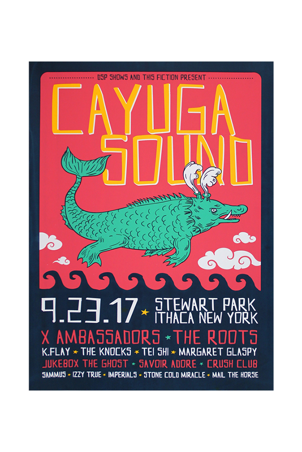 Cayuga Sound Poster