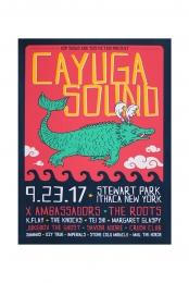 Cayuga Sound Poster - X Ambassadors