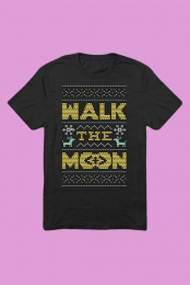 Holiday Sweater T-Shirt (Black)