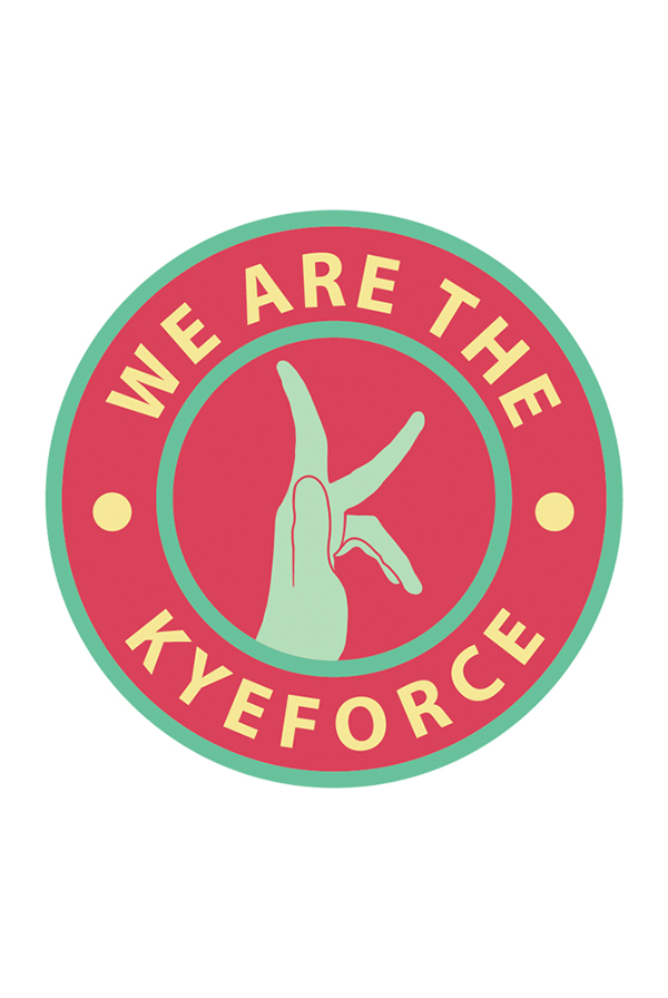 Kyeforce Sticker