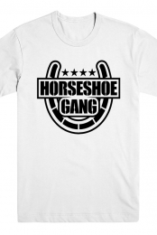 Horseshoe Gang Tee (White)