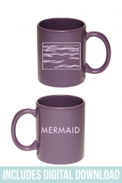 Mermaid Coffee Mug + Instant Grat