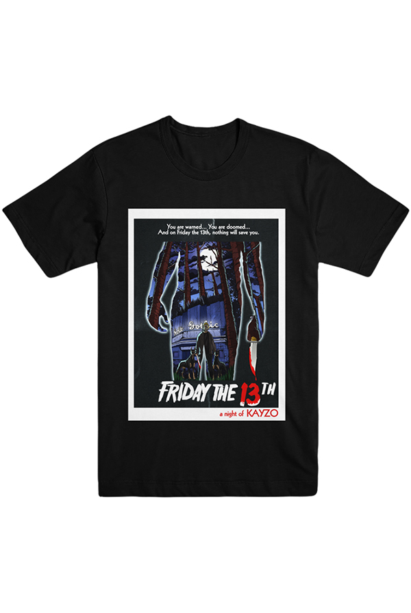 Friday The 13th Tee (Black)