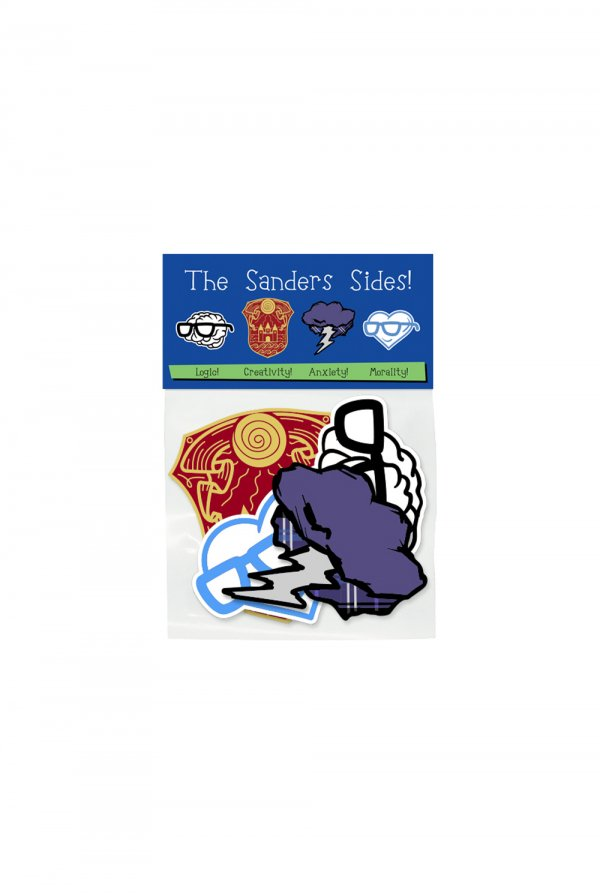 Sanders Sides Sticker Pack