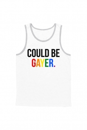 Could Be Gayer Tank (White)