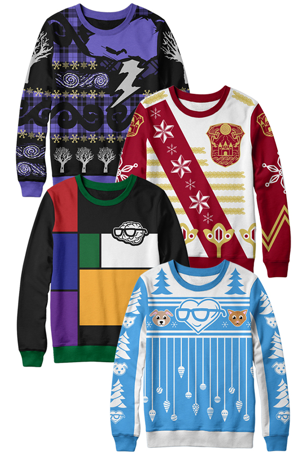 Sanders Sides Christmas Sweater Bundle